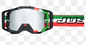 GOGGLES - Motorcycle Helmets Motocross Goggles Orange PNG