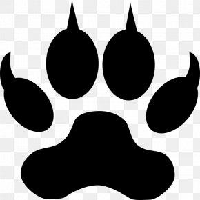 Dog - Paw Dog Bear Clip Art PNG