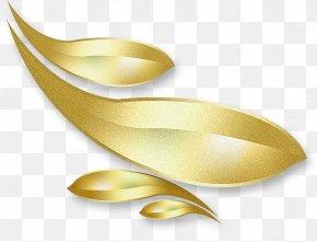 Gold Leaf Decoration - Gold Leaf Gold Leaf PNG