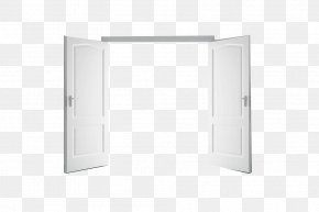 Open Door - Structure White Pattern PNG
