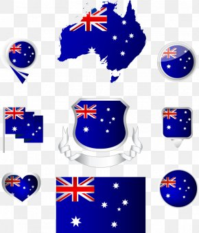 Vector Map And Flag Of Australia - Flag Of Australia National Flag Coat Of Arms Of Australia PNG