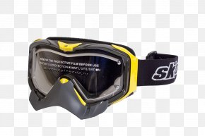 Glasses - Goggles Snowmobile Glasses Bombardier Recreational Products Light PNG