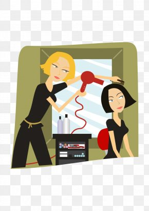 Hair - Hair Clipper Hairdresser Beauty Parlour Clip Art Hairstyle PNG