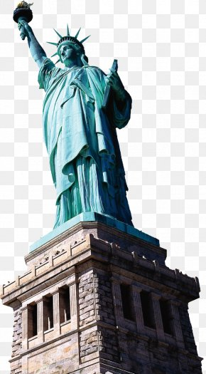 Statue Of Liberty - Statue Of Liberty Empire State Building New York Harbor Hudson River Liberty Island PNG