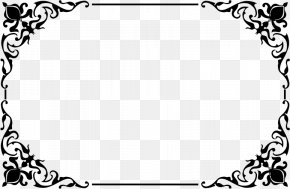 Decorative Border Clipart - Picture Frame Clip Art PNG
