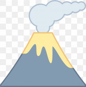 Mountain Clipart Icy - Volcano Clip Art Mount Etna Mount Hudson PNG