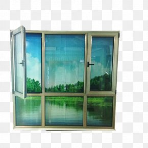 Household-ceiling Windows Material Picture - Window Glass Aluminium Balcony Ceiling PNG