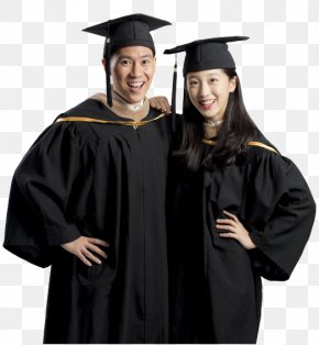 Graduation Ceremony - Academic Dress Robe Graduation Ceremony Square Academic Cap Sleeve PNG