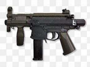 Machine Gun - Trigger Personal Defense Weapon Firearm Submachine Gun PNG