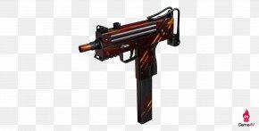 Paperrplane Painted Dotted Line - PlayerUnknown's Battlegrounds MAC-10 Weapon Machine Pistol Gun Barrel PNG