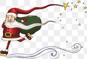 Santa Claus Creative - Snegurochka Ded Moroz Christmas Illustration PNG