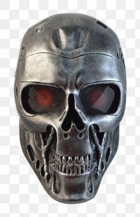 Terminator Head - Terminator Mask Masquerade Ball Skynet Face PNG