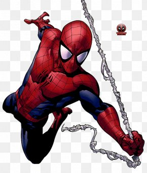Spiderman - Ultimate Spider-Man Captain America Miles Morales Venom PNG