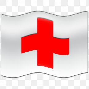 Red-Flag Cliparts - American Red Cross Red Flag Clip Art PNG
