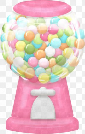 Party Supply Confectionery - Pink Balloon Confectionery Party Supply PNG
