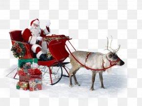 Santa Claus - Santa Claus Reindeer Ded Moroz Christmas Ornament PNG