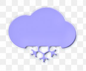 Meteorological Phenomenon Heart - Clouds Icon Snow Icon Weather Icon PNG