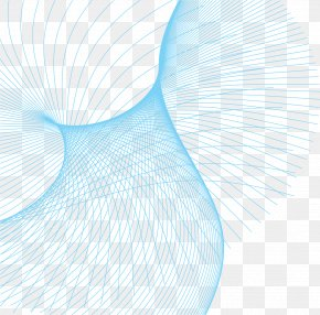 Vector Blue Shading Material Science And Technology Lines - Line Blue PNG