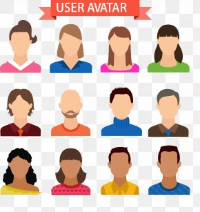 12 Expressionless User Avatar Vector - Avatar User Download Icon PNG