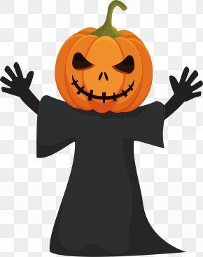 Pumpkin Monster - Calabaza Jack-o-lantern Pumpkin PNG