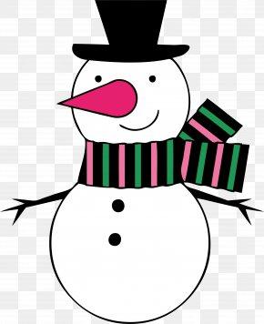 Drawing Snowman - Snowman New Year Christmas Clip Art PNG