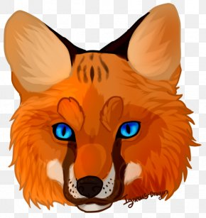 Fox Face Cliparts - Red Fox Whiskers Clip Art PNG
