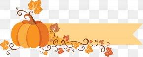 Cartoon Thanksgiving Title - Thanksgiving Clip Art PNG