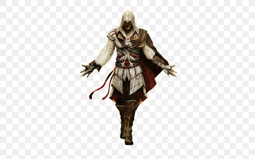 Assassin's Creed II Assassin's Creed: Brotherhood Assassin's Creed: Revelations Ezio Auditore, PNG, 1131x707px, Ezio Auditore, Armour, Assassins, Cold Weapon, Costume Download Free