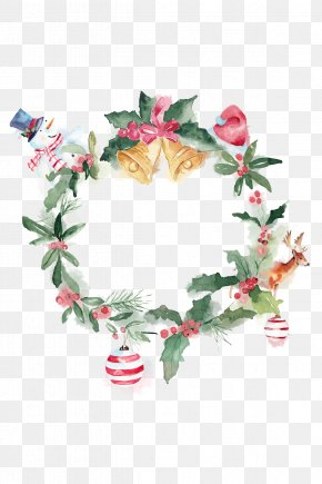 Christmas Wreath Element - Christmas PNG