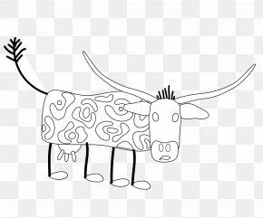 Line Black - Cattle /m/02csf Drawing Line Art Clip Art PNG