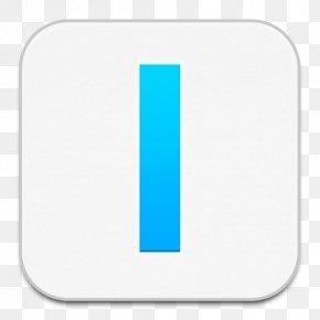 IA Writer - Angle Aqua Line PNG