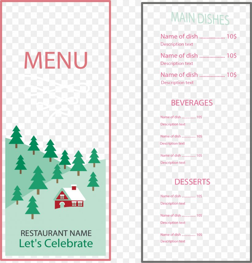 Menu Restaurant Food, PNG, 1446x1508px, Menu, Food, Paper, Restaurant, Text Download Free