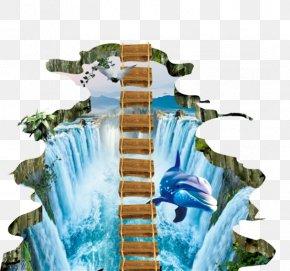 Dolphin Wallpaper - Paper Wall Dolphin Wallpaper PNG