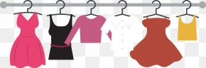 Women Hanging Rods On Display - Dress Clothing Clothes Hanger Suit PNG