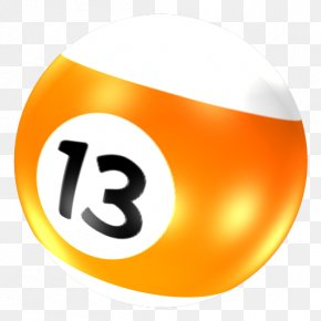 Billiards 13 - ICO Pool Ball Icon PNG