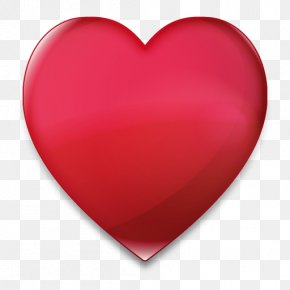 Heart PNG Image, Free Download - Red Heart Valentine's Day PNG