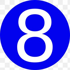 Number 8 - Number Free Content Clip Art PNG