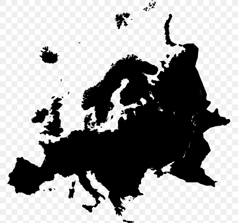 European Union Silhouette, PNG, 769x768px, Europe, Art, Black, Black And White, Carnivoran Download Free