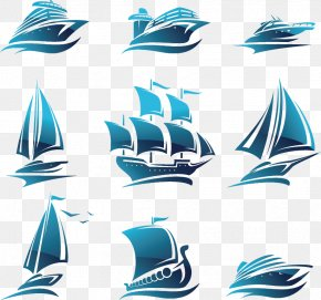 Blue Ship Icon - Ship Royalty-free Illustration PNG