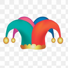 Circus Clown Hat Vector Material - Clown Circus Hat Clip Art PNG