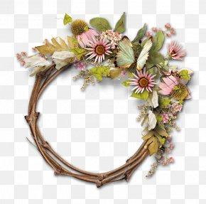 Picture Frames Floral Design Clip Art PNG