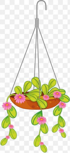 Flower - Flowerpot Hanging Basket Clip Art PNG