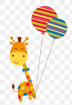 Cartoon Giraffe - Giraffe Cartoon PNG