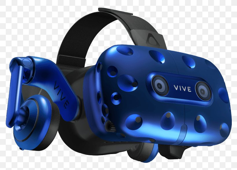 HTC Vive Head-mounted Display Oculus Rift Virtual Reality Headset, PNG, 786x587px, Htc Vive, Base Station, Blue, Display Resolution, Electric Blue Download Free