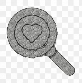 Stamp Seal Heart Icon - Magnifying Glass Icon Medical Elements Icon Heart Icon PNG