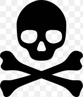 Symbol - Poison Hazard Symbol Skull And Crossbones PNG