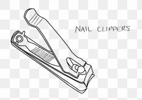 Nail Cutter - Nail Clippers Finger Drawing Clip Art PNG