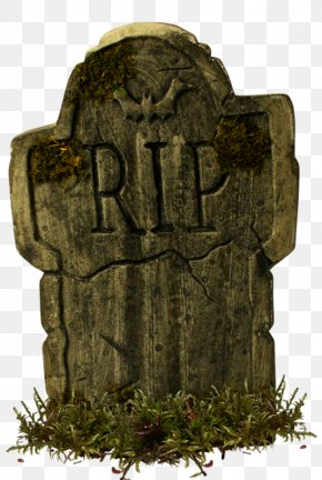 A Stone - Headstone Halloween Cake Cemetery Rest In Peace PNG