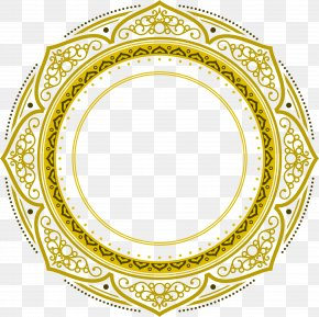 The Golden Festival Circle Of Eid Al Fitr - Najd Eid Al-Fitr Eid Mubarak Eid Al-Adha PNG