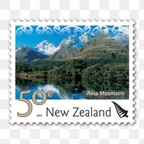 Tramping In New Zealand - Postage Stamps New Zealand Stock Photography Water Resources PNG